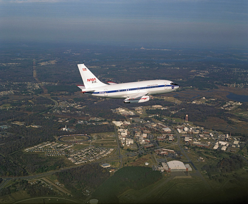 NASA - NASA's B-737 Flying Laboratory