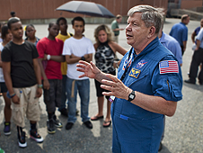 Astronaut Roger Crouch.