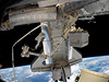 Discovery docked to the ISS during STS-133 mission