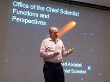 NASA Chief Scientist Dr. Waleed Abdalati