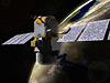 Artist's concept shows CALIPSO in orbit