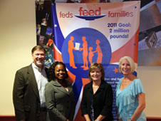Feds Feeds Families Campaign kick-off.