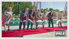 Hydro Impact Basin ribbon-cutting ceremony