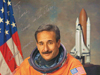 Astronaut Charlie Camarda, signed photograph.