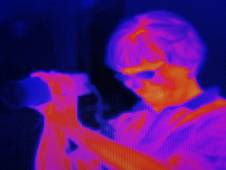 Thermal image.