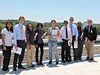 Congressional interns visit NASA Langley.