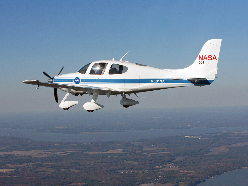 Nasa nasa partners to test unmanned aircraft technology in n d