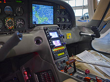 NASA Cirrus SR-22 cockpit