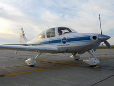 NASA Langley's Cirrus SR-22 spent two weeks in North Dakota testing technologies to help safely integrate unmanned aircraft into the national airspace