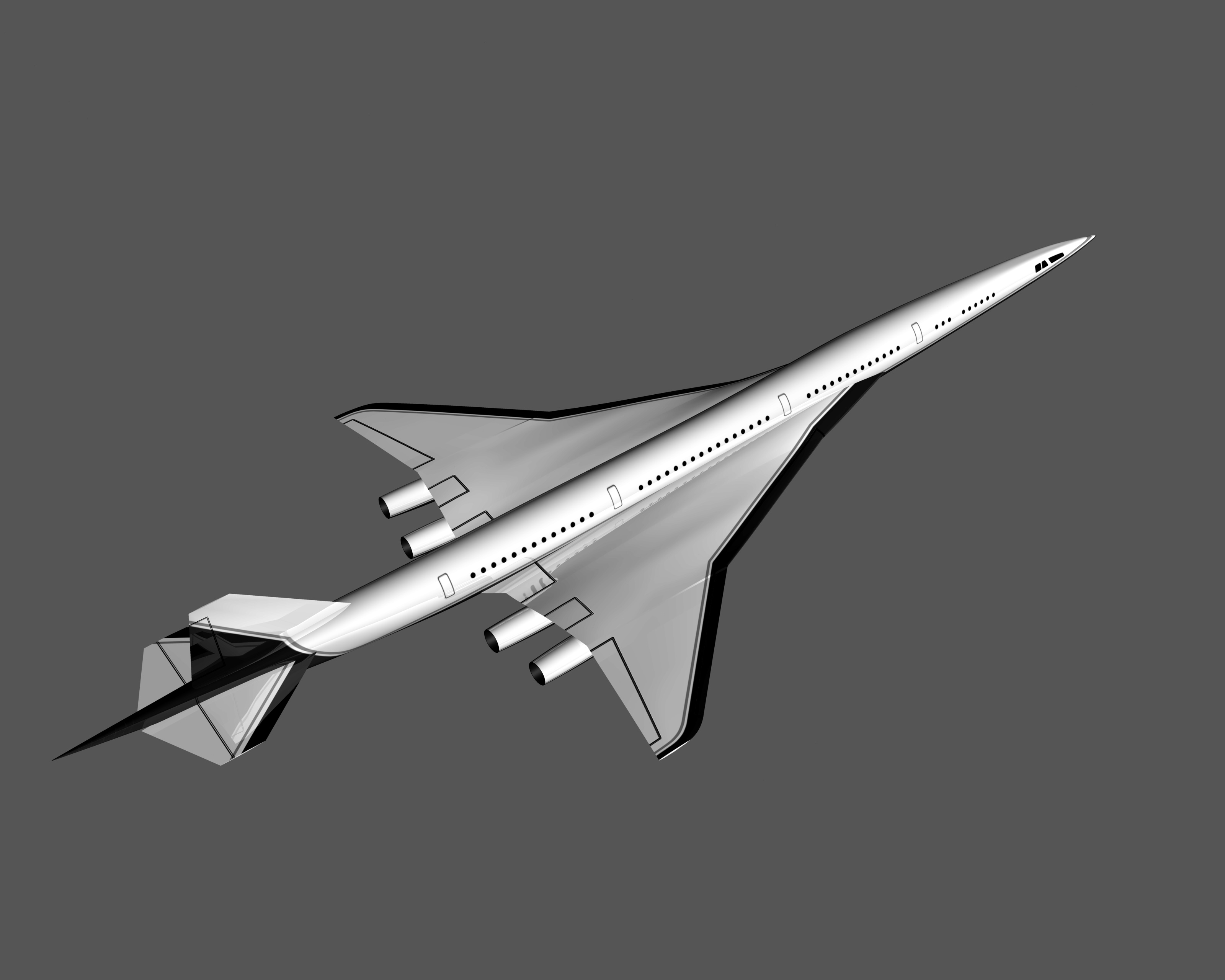 High-Speed Civil Transport concept