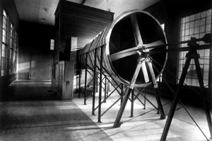 Langley's first wind tunnel