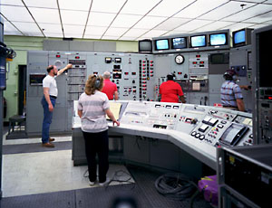Control room of the 8-Foot High-Temperature Tunnel