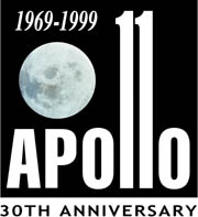 Apollo 11 30th Anniversary Logo