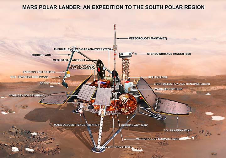 mars landing spacecraft - photo #23