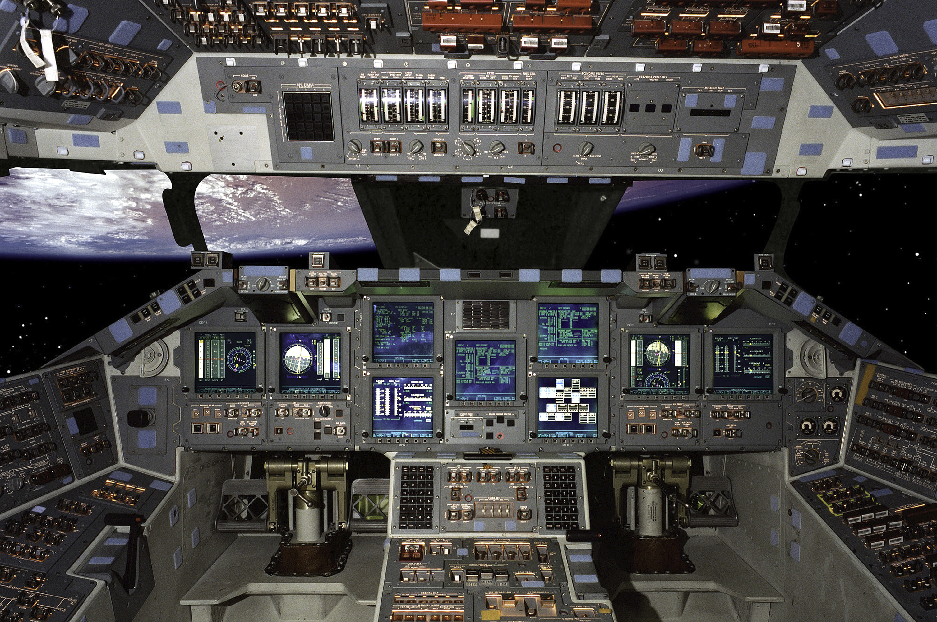 space shuttle home cockpit - photo #3