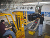 Technicians at NASA Langley prepare a B200 aircraft for the DISCOVER-AQ air pollution measurement mission in California. Credit: NASA Langley/ Sean Smith