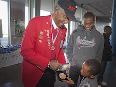 Ezra Hill, original Tuskegee Airman.