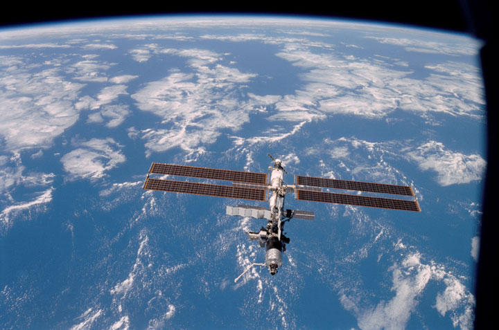 international space station from earth to current transportation - photo #20