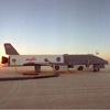 X-34 on Rogers Dry Lakebed at Dryden Flight Research Center