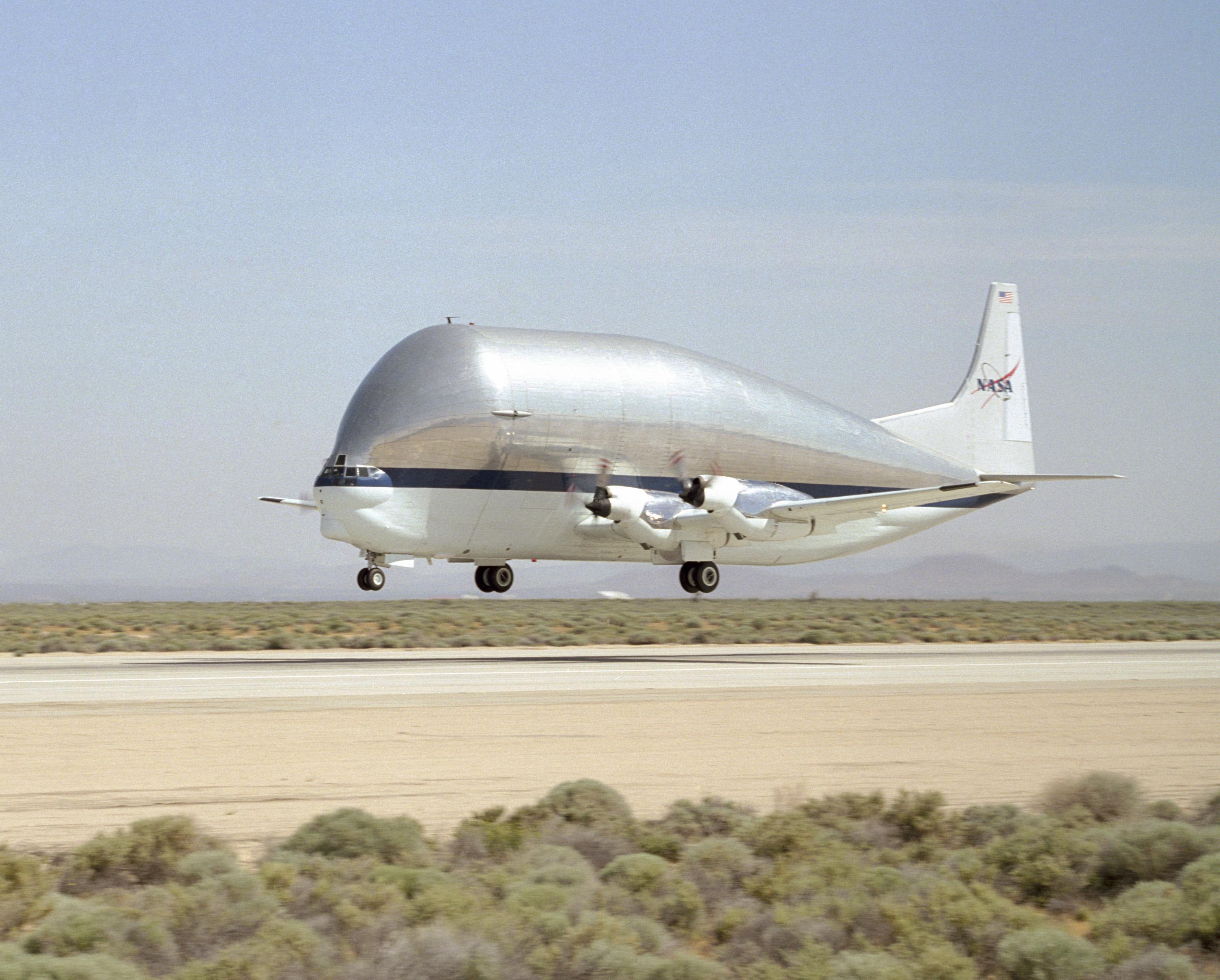 NASA - NASA's Super Guppy Aircraft to Deliver Module for ...