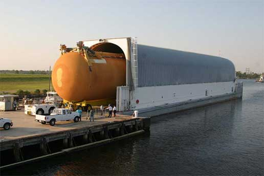 Space shuttle external tank designated ET-118