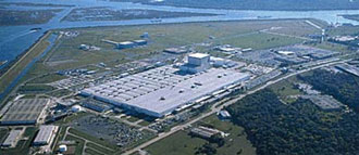 Aerial view of Michoud Assembly Facility