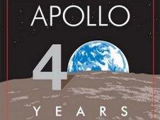 NASA official Apollo 40th Anniversary logo