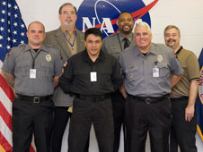 NASA Michoud Assembly Facility security team members