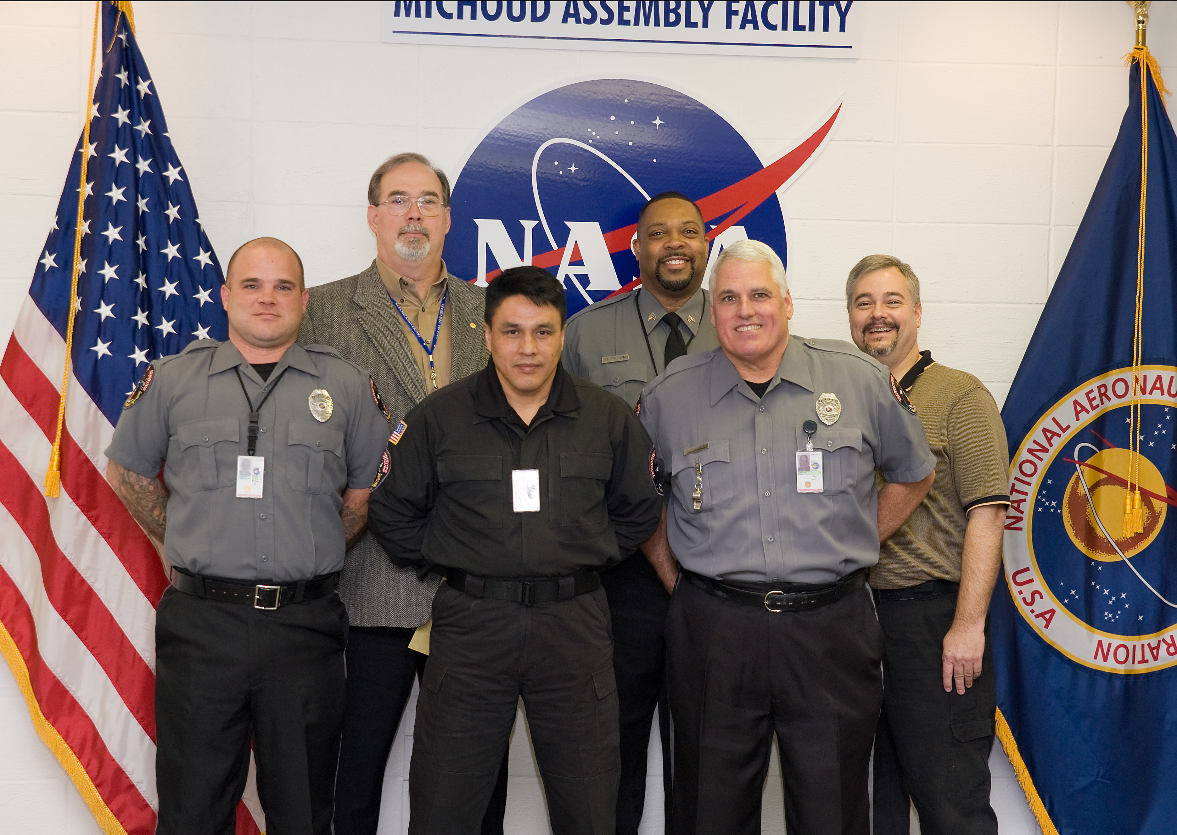 NASA - Security Officers Graduate from Federal Law ...