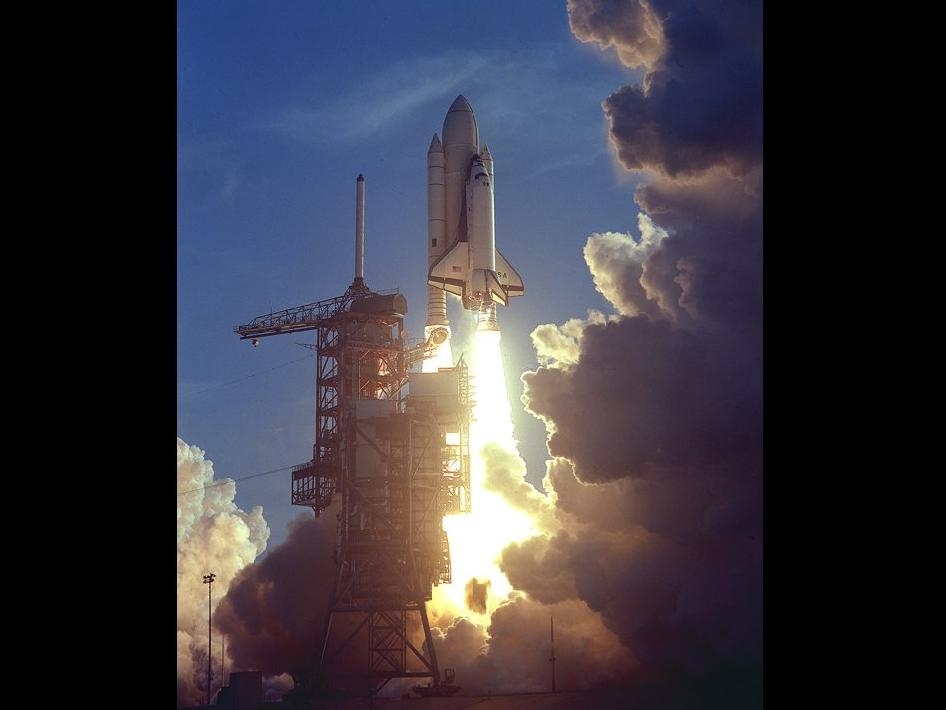 NASA - First Space Shuttle Launch, 1981