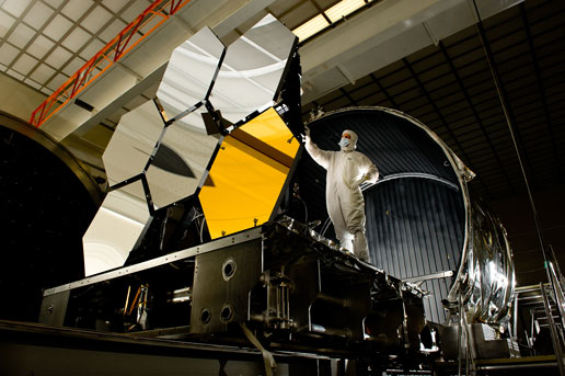 Nasa James Webb Space Telescope Cryogenic Mirror Test