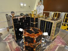 Fast, Affordable Science and Technology Satellite, or FASTSAT, microsatellite development