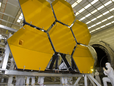 NASA completes final cryogenic testing on six of the 18 mirror segments that will form NASA's James Webb Space Telescope�s primary mirror.