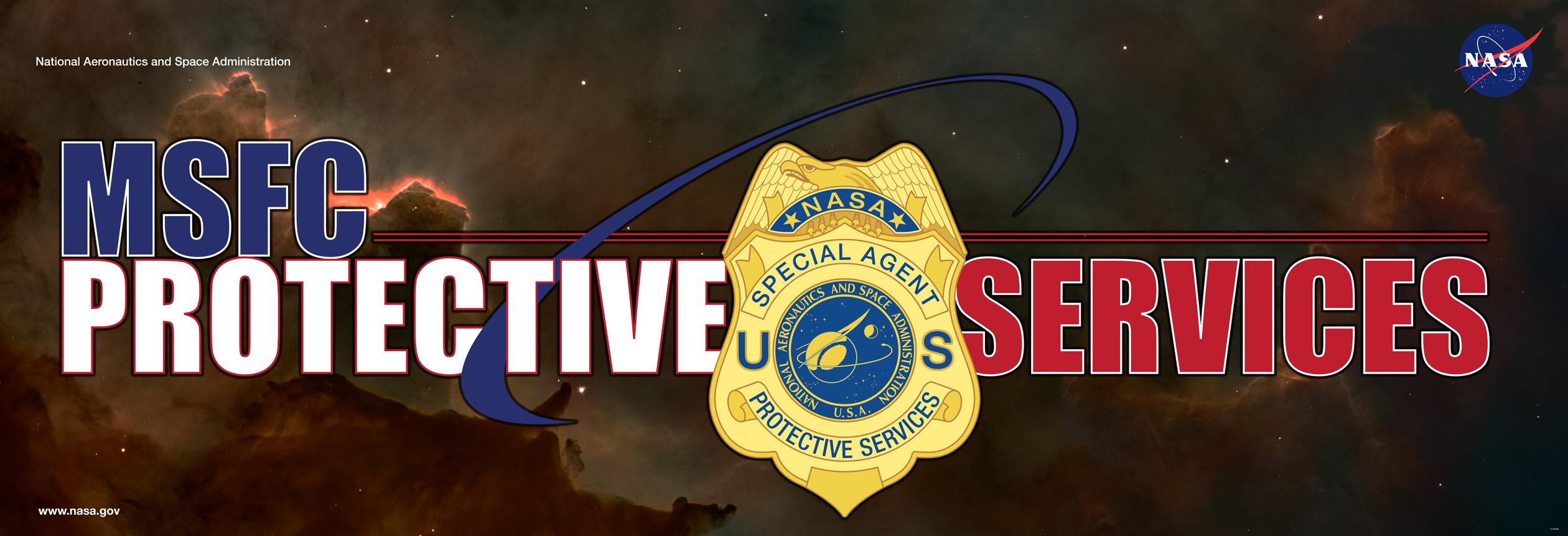 NASA Protective Services Logo - Pics about space