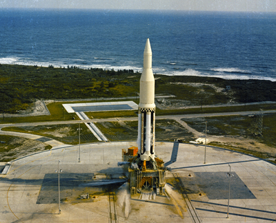 Oct. 27 marks the 50th anniversary of the first Saturn launch.