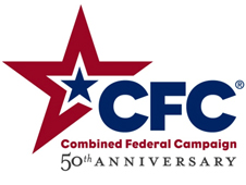 Combined Federal Campaign 50th Anniversary logo