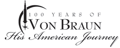 Space & Rocket Center's Von Braun 100th birthday logo