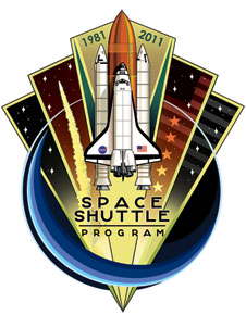 The Space Shuttle Program 30-year commemorative patch