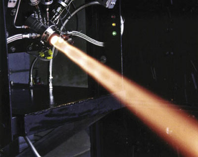 Through NASA's Small Business Innovation Research program, Orbital Technologies Corp., or ORBITEC, developed vortex combustion technology representing a new approach to rocket engine design. ORBITEC's NASA work led to advancements in fire suppression systems by the company's subsidiary, HMA Fire.