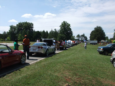 More than a dozen classic and exotic vehicles and motorcycles -- owned and maintained by Marshall team members and their guests -- were on display at the picnic's car, truck and bike show.