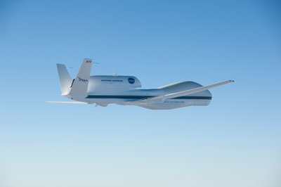 NASA will be flying two Global Hawks over the U.S. East Coast to understand the processes which underlie hurricane formation and intensity change.