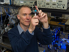 Marshall physicist Dr. David Smith is leading the development of advanced gyroscopes.