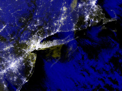 Visible Infrared Imager Radiometer Suite Blackout RGB Composite on Nov. 3 for Hurricane Sandy.