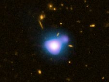 Xray jet from quasar GB 1428, located 12.4 billion light years from Earth