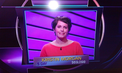 Marshall Strategic Analyst Kristin Morgan, appearing on 'Jeopardy!'