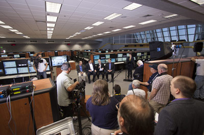 NASA officials detail progress toward a September 2014 flight test called Exploration Flight Test-1, or EFT-1, as part of the agency's goal of launching astronauts into deep space.