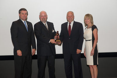 SAIC was honored with the 2012 Marshall Contractor Excellence Award in the 'Large Business' category for its work for Marshall under three separate contracts.