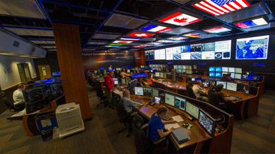 On June 19, NASA unveiled an upgraded Payload Operations Integration Center at the Marshall Center.
