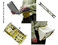 Photo description: The Payload Equipment Restraint System (PERS) has five elements that astronauts will use on the International Space Station. From top left and going clockwise: The Single Strap, the Laptop Restraint Belt, the H-Strap the Belly Pack, and the Tool Page Case.