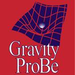Photo description: Gravity Probe B logo